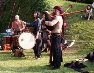 Barbarian Pipe Band - Concerto di musica celtica