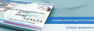 C.I.E. – Carta di identità Elettronica