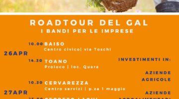 ROADTOUR – I bandi per le imprese per il sostegno agli investimenti in Agricoltura, Agroalimentare e Turismo – Gal Antico Frignano e Appennino Reggiano