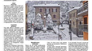 """Giornale comunale """"La Smenta"""" Dicembre 2016"""