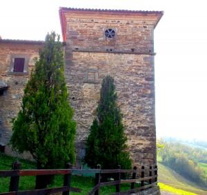 La casa a torre della famiglia Ceccati a Stiano di Corneto
