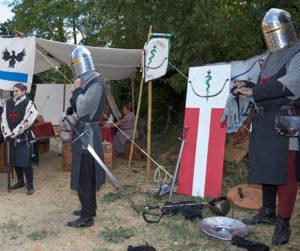 Atmosfere medioevali, disfide e fuochi