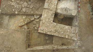 Particolare dagli scavi della scorsa estate