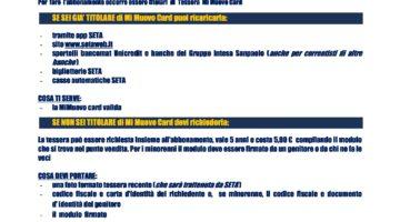 UFFICIO MOBILE SETA A TOANO – Martedì 5 Settembre 2017