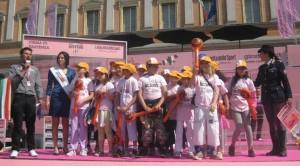 I bambini di Toano vincono BiciScuola 2011