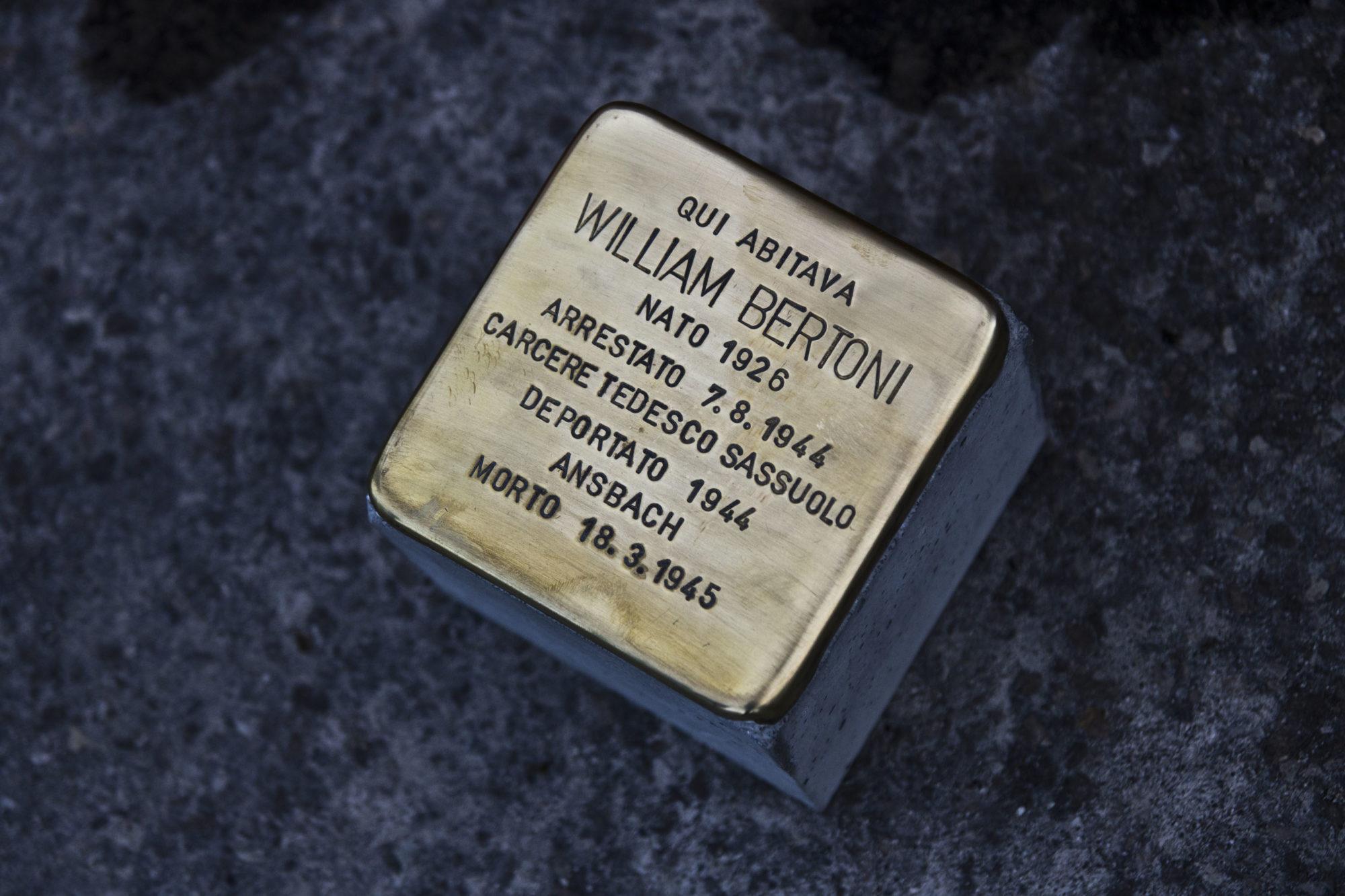Istoreco: 15 nuove pietre d'inciampo a Toano, Guastalla e Sant'Ilario dedicate a 15 reggiani uccisi dai nazisti